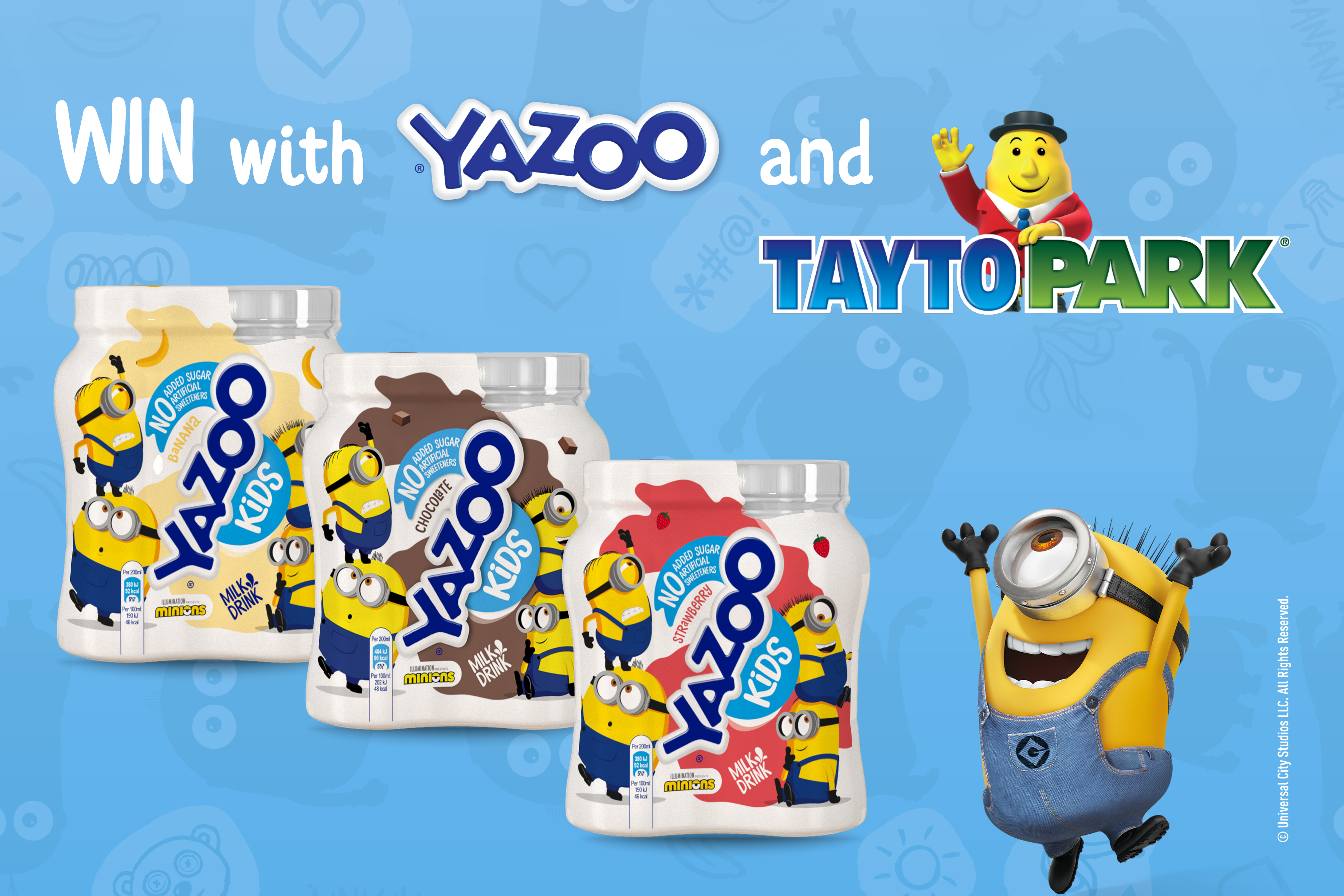 YAZOO KiDS team up with Tayto Park for Today FM Competition